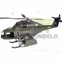 Helicoptero De Verdade Grande Feito À Mao Artesanalmente Top