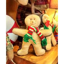 Cojín Navideño Galleta De Jengibre Niño Chico Regalo Navidad