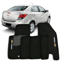 Tapete Carpete Preto Chevrolet Prisma 2011 A 2015 - 5 Peças