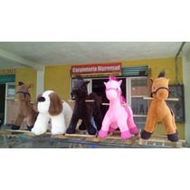 Caballos Peluches Montables
