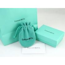 Caja Con 2 Bolsas Tiffany Regalo Joyeria Bisuteria