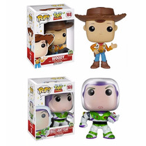 Funko Set 2 Pop Toy Story Disney Woody Buzz Light Year 20th