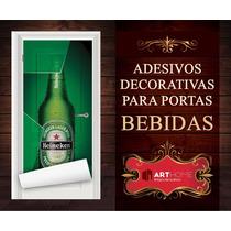 Adesivos Para Portas Bebidas Cerveja Bar Jack Daniels