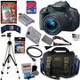 Oferta* Canon Rebel T5i 18mp Camaraincluye Kit Completisimo