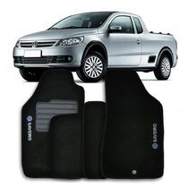 Tapetes Carpete Volkswagen Saveiro G5 G6 2010 A 2014 Bordado