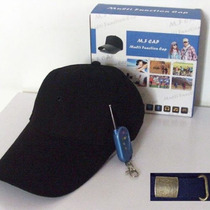 Gorra Camara Espia Oculta Hd 720p Mp3 Bluetooth 8gb Audifono