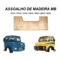 Tampa Assoalho Madeira Caminhão Mb 1113 2013 1114 1313 Piso