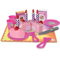 Bolo Crec Crec Festa De Aniversário Com Acessorios Infantil
