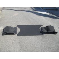 Carpete Uno 2 Ou 4 Portas Moldado Porta-mala Cor Cinza