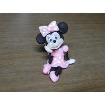 Souvenirs Infantiles Minnie En Porcelana Fría