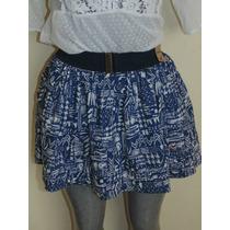 Faldas Hollister Co. T-m Con Su Cinto Nueva Orig. Shorts,ves
