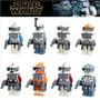 Star Wars Clone Troopers Capitão Fox Capitão Rex Lego Compat