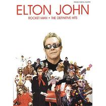 Libro Musica Elton John Para Piano Voz Y Guitarra