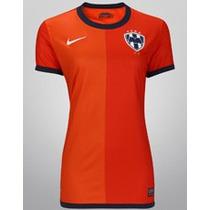 Liquidacion Jersey Nike Monterrey Visita Naranja Dama Origi