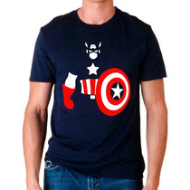 Playera Capitan America Marvel Comic Muchos Mayoreo Catalogo