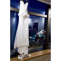 Vestido De Noiva Cymbeline Renda Francesa 38/40 - Impecável!