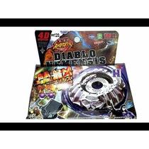 Beyblade Metal Fury 4d Diablo Nemesis Bb122+ Frete Gratis