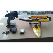 Lancha Barco Controle Remoto Tiger-shark Wl912 Speedboat