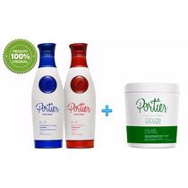 Kit Escova Progressiva + Botox White 1kg - Portier