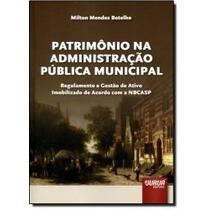 Livro Patrimônio Na Administração Pública Novo Frete Grátis