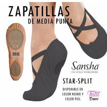 Zapatillas De Media Punta Para Ballet Sansha Star Split