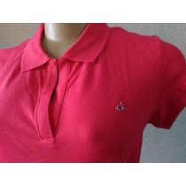 Blusa Polo Calvin Klein Em V Camiseta Feminina Original