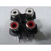 Conector De Rca (jack) 4x1 Para Modulo Explosound Xm-3600