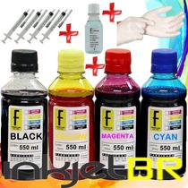 2450ml Kit Tinta Recarga Cartuchos Impressora Hp Tinta Bulk