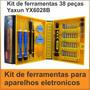 Ferramenta Profissional 38 Peças Manutenção Celular Tablet