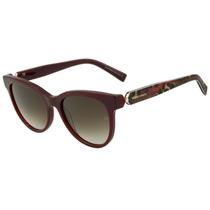 Ana Hickmann Ah 9199 - Óculos De Sol D02 Vinho Brilho E