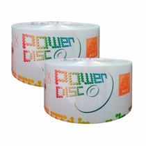 100 Dvd Virgen Power Disc 4.7 Gb 16x Películas Datos