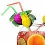 Hermosos Pitillos Decorados De Frutas