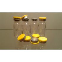 Frasco Penicilina 10ml C/borracha E Selo Flip Off Kit C/100