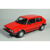 Vw Golf Gti Caribe Mk1 A1 Escala 1:18 Welly