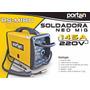 Soldadora Mig Portable 145amp Porten Funciona Sin Gas