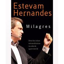 Livro Milagres - Estevam Hernandes (novo) Lacrado
