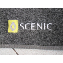 Tapete Renault Scenic Em Carpete Com 3 Peças Ótima Qualidade