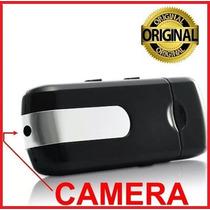 Pen Drive Espião Camera Espiã Gravador De Voz/vídeo Usb