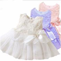 Vestido Renda Bebê Festa Batizado Importado!!!