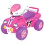 Buggy Cuatriciclo Princesas Y Minnie Buggie Auto Vamosajugar