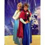 Peluca De Adulto Anna De Frozen Eventos Show Anime Disfraz