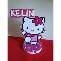 Hello Kitty, Centros De Mesa Con Goma Eva