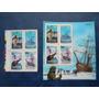 Filatelia Chilena, 1991 Tradicion Nava (block + Sellos) Mint
