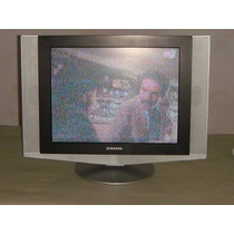 Televisor Samsung Lcd 20 Pulgadas Funcionando Al 100, Usada