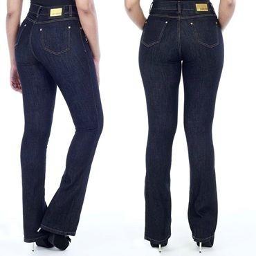 7f7421cc0 Calça Jeans Sawary Hot Pant Cintura Alta Flare - R$ 119,90 em Mercado Livre