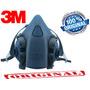 Respirador Máscara 3m Semi Facial 7502 Médio