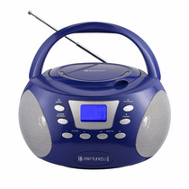 Grabadora Bombox Reproduce Cds, Bluetooth, Radio, E.auxiliar