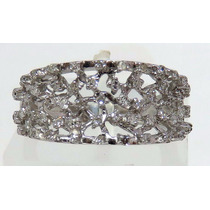 Pocao2005- Anel De Ouro Branco 18k750 Diamantes Vivara