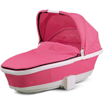 Berço De Bebê (moisés) Quinny Tukk Dobrável Carrier - Rosa