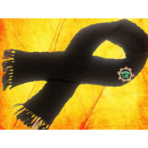 Bufanda De Lana Unisex Tejida A Mano-crochet